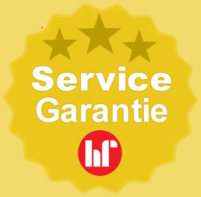 Siegel für Service Garantie