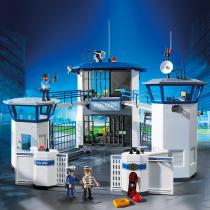 Polizei-Kommandozentrale mit Gefängnis  als Prämie für Ihr Zeitschriften-Abo