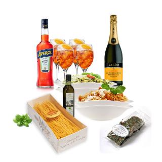 Aperol + Pasta-Set, 13-teilig   als Prämie für Ihr Zeitschriften-Abo
