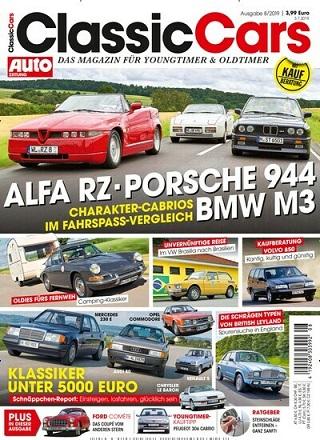 AUTO ZEITUNG classic cars   im Abo
