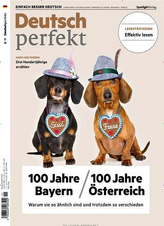 Deutsch perfekt   im Abo