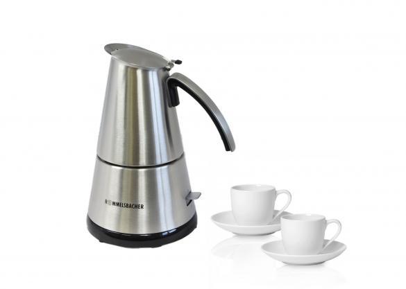 Espressokocher-Tassen-Set, 5-tlg   als Prämie für Ihr Zeitschriften-Abo