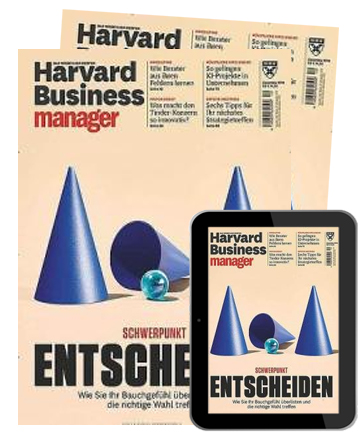 Harvard Business manager digital E-Kombi   im Abo