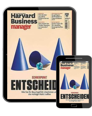 Harvard Business manager digital E-Paper   im Abo