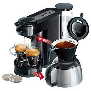 Kaffeeautomat Senseo Switch HD 6592, schwarz   als Prämie für Ihr Zeitschriften-Abo