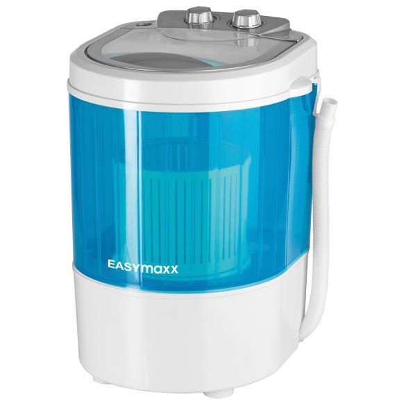 Mini-Waschmaschine, weiß/blau   als Prämie für Ihr Zeitschriften-Abo