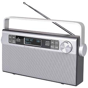 Digitalradio DAB 650SI, silber   als Prämie für Ihr Zeitschriften-Abo