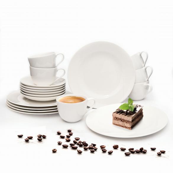 Kaffeeservice für 6 Personen, 18-teilig   als Prämie für Ihr Zeitschriften-Abo