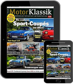 Motor Klassik E-Paper   im Abo