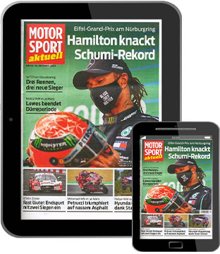 MOTORSPORT aktuell E-Paper   im Abo