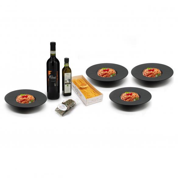 Pasta-Set, 8-tlg.   als Prämie für Ihr Zeitschriften-Abo