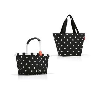 Taschenset, mixed dots, 2-tlg.   als Prämie für Ihr Zeitschriften-Abo