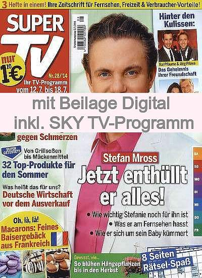 SUPER TV mit Digital Extra   im Abo