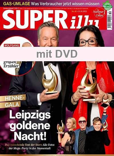 SUPERillu mit DVD   im Abo