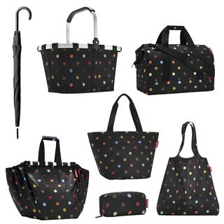 Taschenset mit Schirm dots, 7-tlg.   als Prämie für Ihr Zeitschriften-Abo