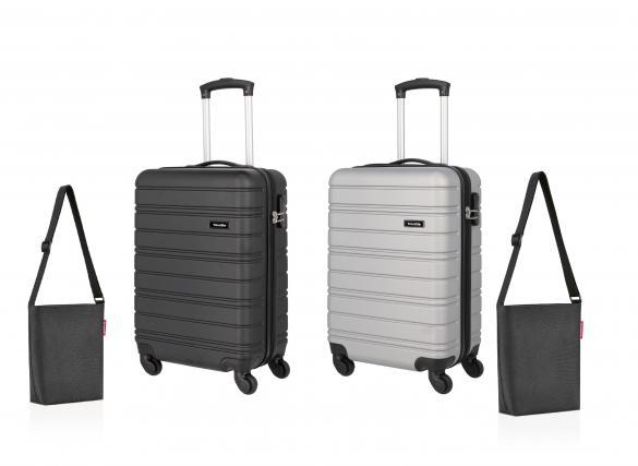 Trolley/Shoulderbag-Set, 4-teilig   als Prämie für Ihr Zeitschriften-Abo