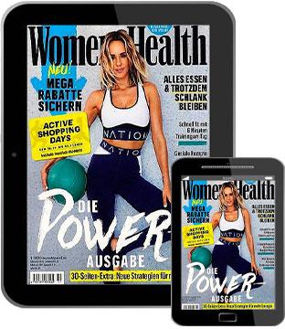Womens`s Health E-Paper   im Abo
