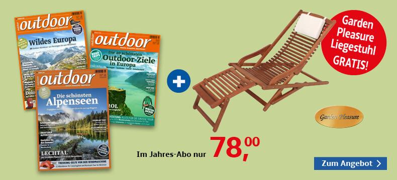 00001_Outdoor + Garden Pleasure Liegestuhl