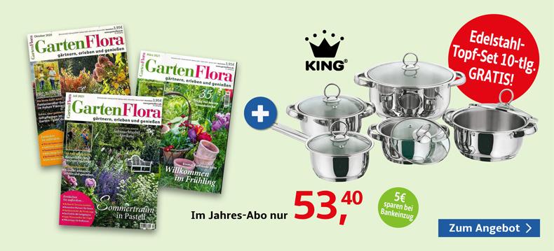 01_Gartenflora + King Topf-Set