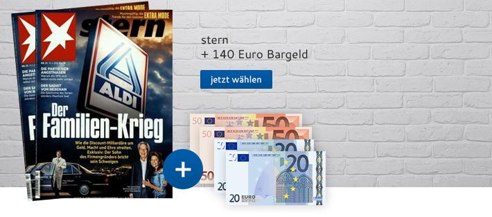 Stern mit 140 Euro