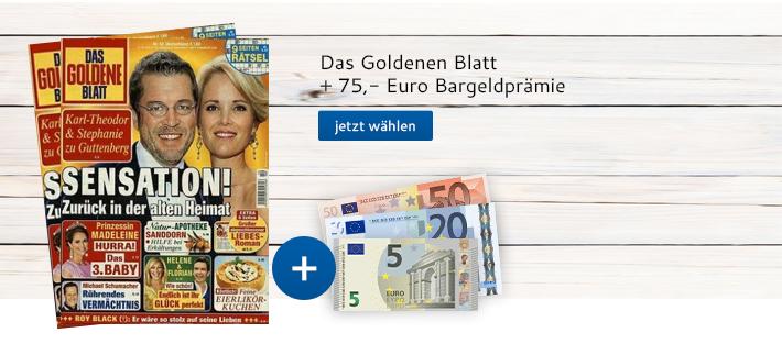 Das goldene Blatt + Bargeld