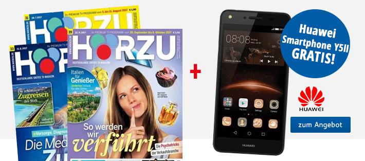 01_Hörzu + Huawei Smartphone