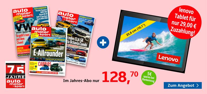 003_auto motor sport + Lenovo Tablet