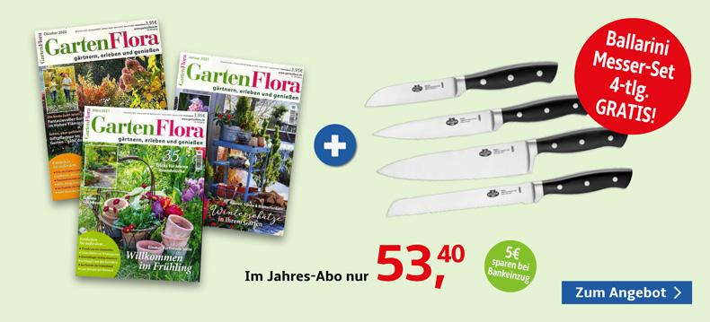 01_Gartenflora + Ballarini Messer