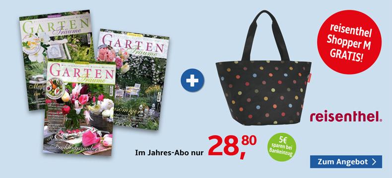 03_Gartenträume + reisenthel Shopper