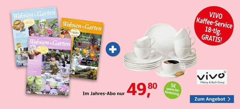 05_Wohnen & Garten + Vivo Kaffeegeschirr